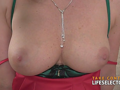Kathia nobili fearsome-fearsome breasty golden-haired glad with pecker
