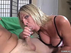 Zero patience when mother i'd like to fuck needs a facial