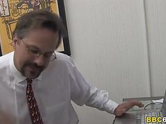 Father watches sammie spades copulates large darksome weenie