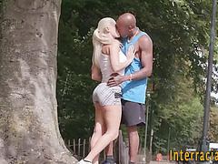 Sweetheart acquires interracial cum