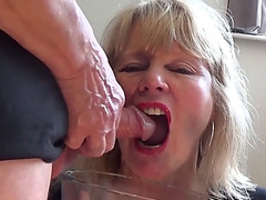 Urinate and oral stimulation from older