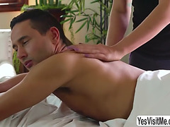 Tori acquires her taut butthole pounded in massage by gabriel