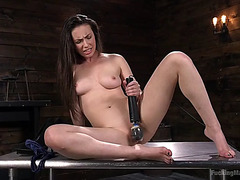 Porn super star casey calvert anally screwed by fast fucking