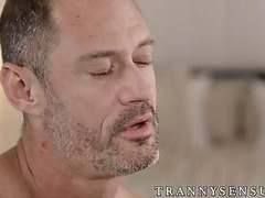 Fiery tranny nikki dissolute receives hammered on all fours