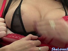 Double Penetration honey can't live without massive jocks inside her holes