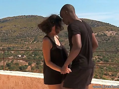 African sunset lovemaking with excitement