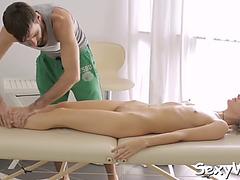 Virgin vagina is willing for fuck