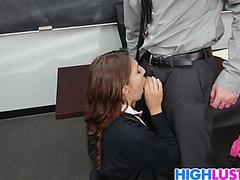 Schoolgirl ariana grand acquires rammed