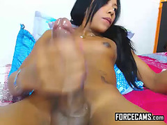 Thrilling big knob sheboy nymphomaniac