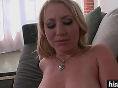 Golden-Haired engulfing and getting screwed hard