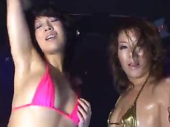 Hgd club hot dance vol.5 threatening-fearsome all dancers natsumi,fearsome ami,fearsome akane,menacing minaki-fx