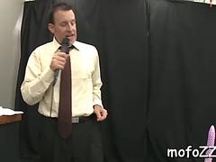 Lustful teacher enjoys sex