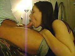 Girl Giving Blowjob In My Room