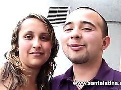 Amateur colombian couple