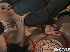 Hotties having lesbian joy