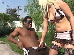 Interracial sex leaves jocelyn jayden out of breath
