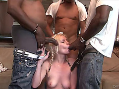 Interracial sex leaves tara lynn foxx filled by cum