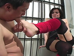 Fetish pleasure with the excited vanessa nasty