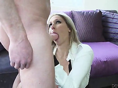 Excellent sex with the dick thirsty mama julia ann