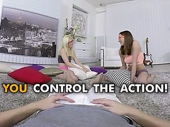 Anna and stacy go wild menacing(pov legal age teenager adventure)