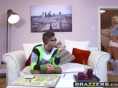 Brazzers menacing-fearsome legal age teenagers like it large menacing-threatening christen courtney and chris d