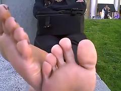 Hawt feetfetish soles