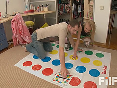 Twister with step sis takes a hot turn