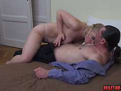 Hawt older sex with jizz flow