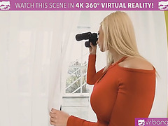 Vrbangers.com breasty blond step sister acquire her slit rammed by a juvenile dude