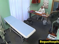 Tattooed euro patient strokes doctors dong