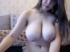 Scrumptious white angel having enjoyment on webcam porn