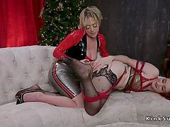 Massive ass dominatrix anal bonks sweetheart