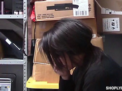 Lalin Girl cashier isabella fine acquires screwed for stealing