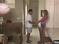 Awesome mother i'd like to fuck next door receives screwed