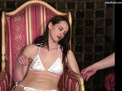 Woman hypnotized