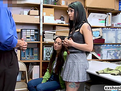 2 shoplifter stepsisters acquires bonks hard by lp officers jock