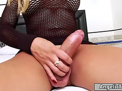 Large whoppers lady-man bianca hills anal rides