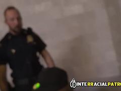 Mean cops fuck up criminal suspect by teaching him a lesson