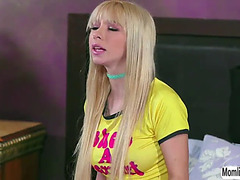 Blond kenzie admits to her stepmom that shes a lesbo