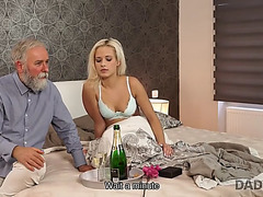 Daddy4k.menacing lad didn&#39t wait that old daddy will fuck his sexy gf ria sun