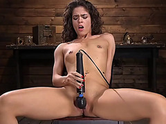 Hot and excited victoria voxxx receives a proper fucking