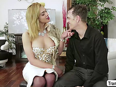 Tbabe jenna tales chastise chad diamonds rectal hole using her shecock