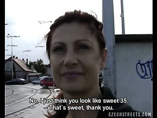 Porn Tube of Czech Streets - Alena