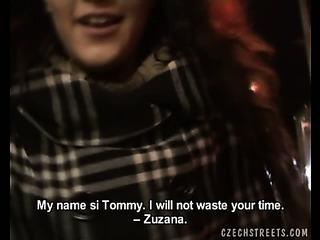 Porno Video of Czech Streets - Zuzana