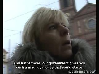 Porno Video of Czech Streets - Jitka