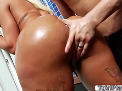 Ts rafaeli ferrari can't live without a large dick inside her dark hole