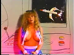 Cheerleader bimbos from outer space part one