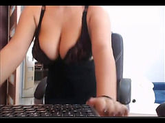 Sister on webcam fearsome(spy)