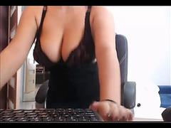 Sister on webcam fearsome(spy)