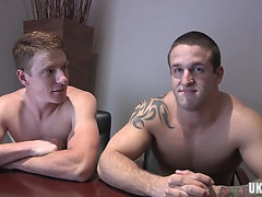 Large 10-Pounder homosexual anal sex and creampie